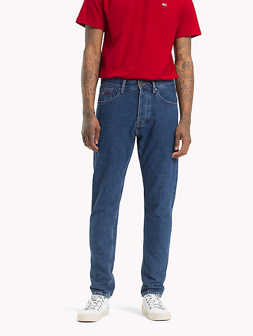 TOMMY JEANS TJ 1988 Tapered Fit Jeans - TOMMY CLASSICS MID BL RIG - TOMMY JEANS Tapered Jeans - main image