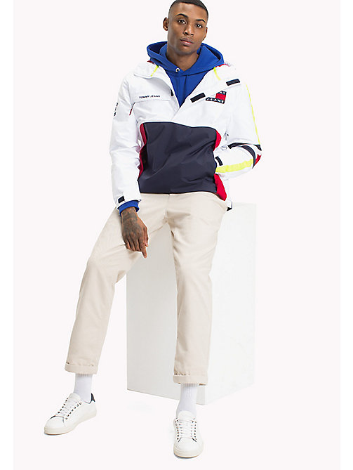 TOMMY JEANS 90s Sailing Jacket - BRIGHT WHITE - TOMMY JEANS Capsule - main image