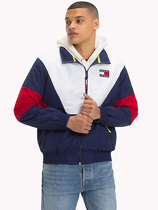 TOMMY JEANS 90s Trainingsjacke - PEACOAT / MULTI - TOMMY JEANS TOMMY JEANS Capsule - main image