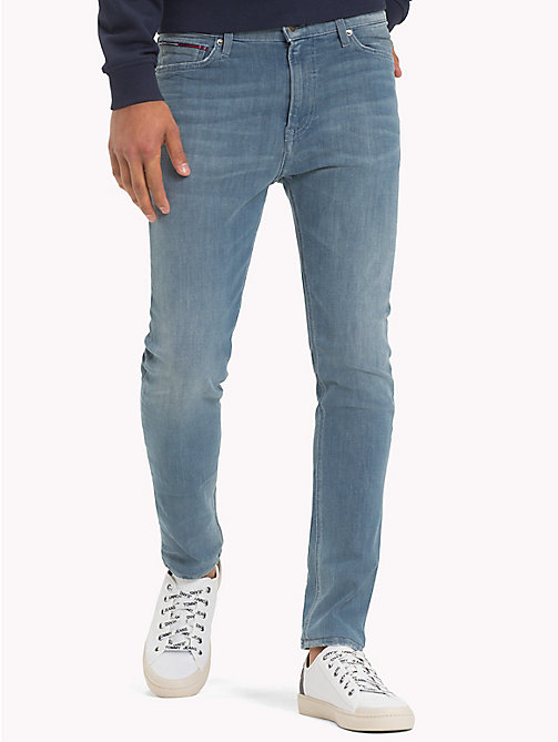 TOMMY JEANS Dynamic Stretch Denim Skinny Fit Jeans - DYNAMIC CAST MID BLUE STRETCH - TOMMY JEANS Skinny Jeans - main image