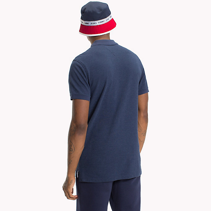 TOMMY JEANS Polo Oxford - AIR BLUE - TOMMY JEANS Hombre - imagen detallada 1