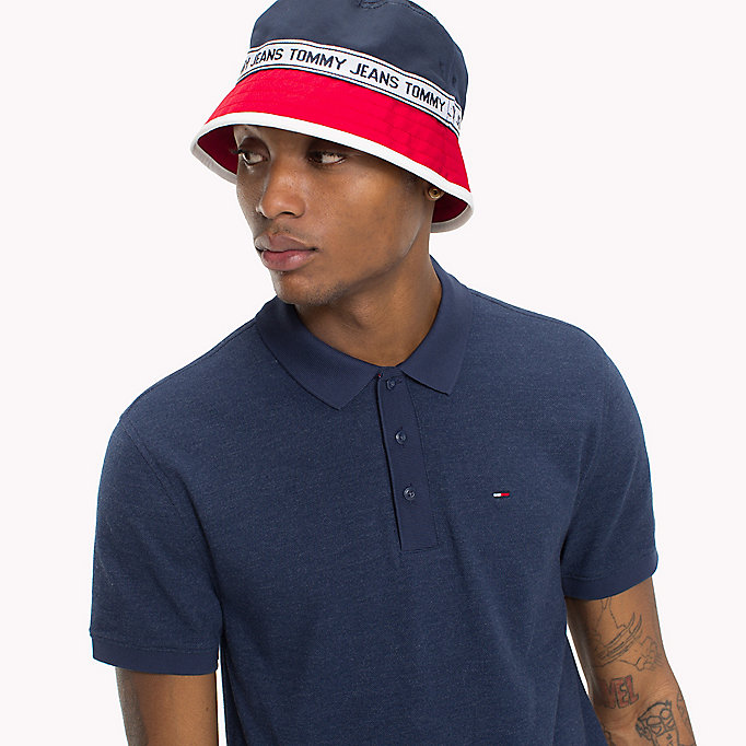 TOMMY JEANS Oxford Polo Shirt - AIR BLUE - TOMMY JEANS Men - detail image 2