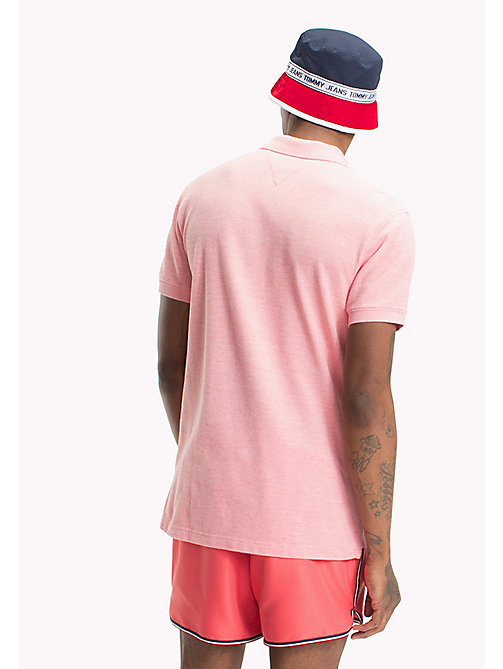 TOMMY JEANS Polo Oxford - ROSE OF SHARON - TOMMY JEANS Looks per le vacanze - dettaglio immagine 1