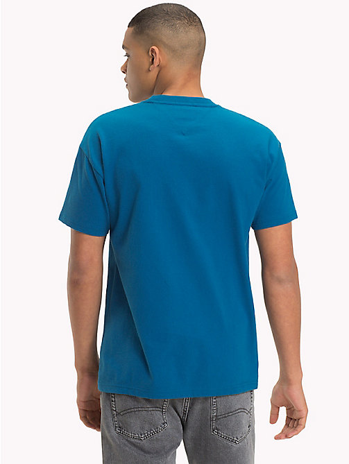 TOMMY JEANS Relaxed Fit T-Shirt - BLUE SAPPHIRE - TOMMY JEANS T-Shirts & Polos - detail image 1