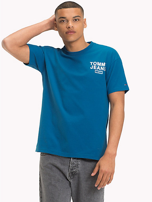 TOMMY JEANS Relaxed Fit T-Shirt - BLUE SAPPHIRE - TOMMY JEANS T-Shirts & Polos - main image