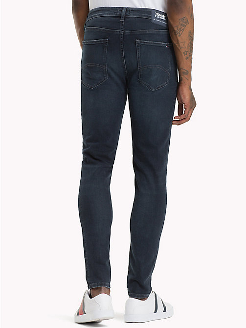 TOMMY JEANS Skinny Stretch Faded Jeans - CHALK DARK BLUE STRETCH - TOMMY JEANS Jeans - detail image 1