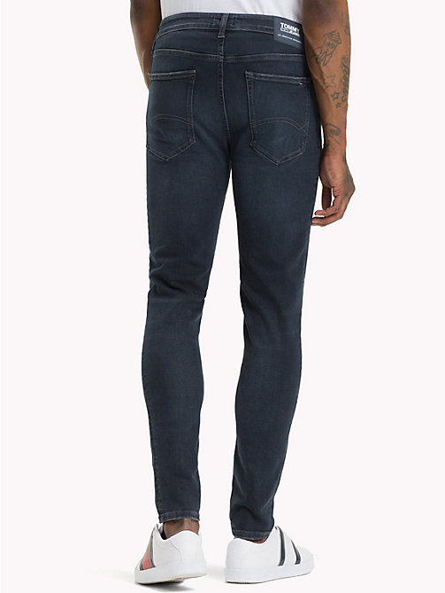 TOMMY JEANS Jeans skinny stretch con scoloriture - CHALK DARK BLUE STRETCH - TOMMY JEANS Jeans - dettaglio immagine 1