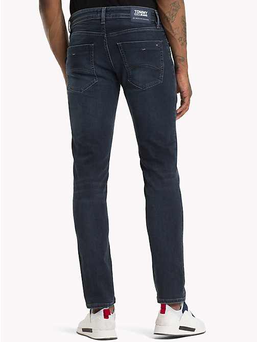 TOMMY JEANS Scanton Slim Fit Jeans - CHALK DARK BLUE STRETCH - TOMMY JEANS Jeans - main image 1