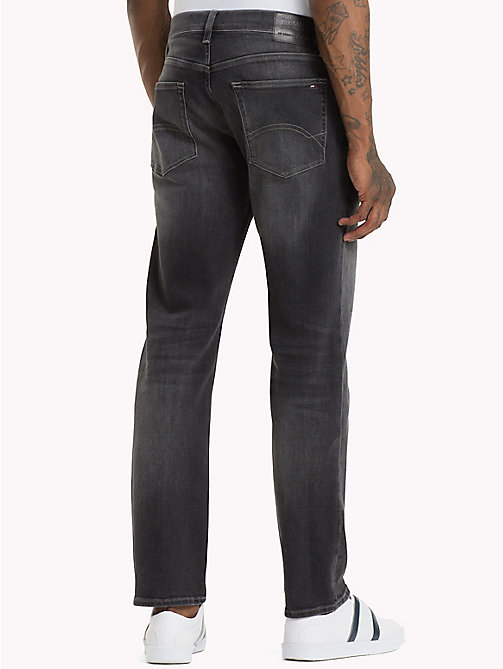 TOMMY JEANS Ryan Straight Leg Fit Jeans - WOODEN BLACK COMF - TOMMY JEANS Jeans - main image 1