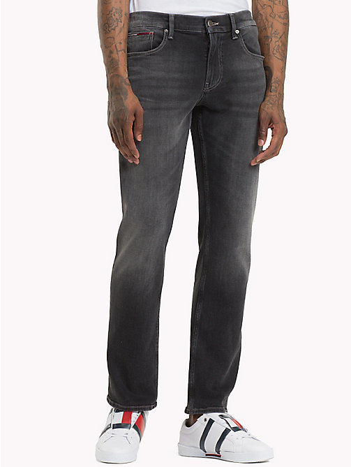 TOMMY JEANS Ryan Straight Leg Fit Jeans - WOODEN BLACK COMF - TOMMY JEANS Jeans - main image