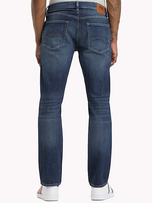 TOMMY JEANS Ryan Straight Fit Jeans - WOODEN MID BLUE COMF - TOMMY JEANS Jeans - detail image 1