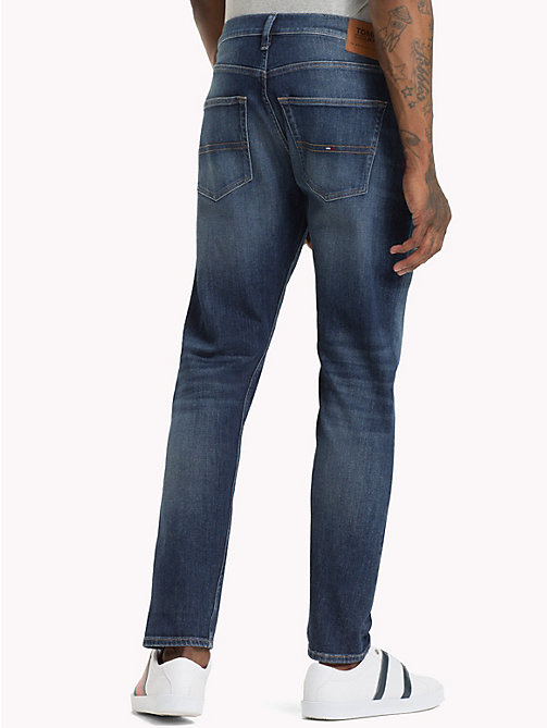 TOMMY JEANS TJ 1988 Tapered Fit Jeans - WOODEN MID BLUE COMF - TOMMY JEANS Tapered Jeans - detail image 1