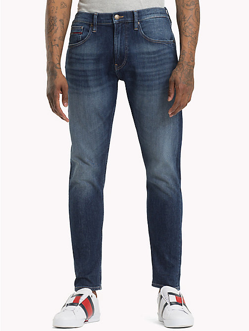 TOMMY JEANS TJ 1988 tapered fit jeans - WOODEN MID BLUE COMF - TOMMY JEANS Tapered jeans - main image
