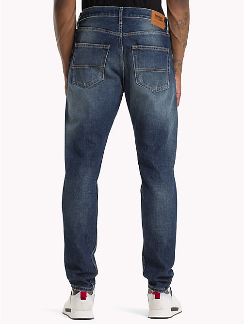 TOMMY JEANS TJ 1988 Tapered Fit Jeans - ORTON MID BLUE RIGID - TOMMY JEANS Tapered Jeans - main image 1