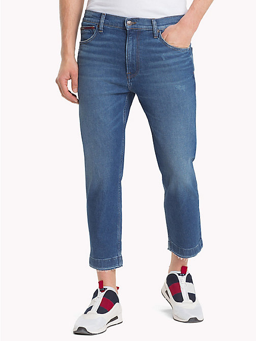 TOMMY JEANS Stretch Cropped Fit Jeans - TJ DARK BL COMF - TOMMY JEANS Straight Fit Jeans - main image