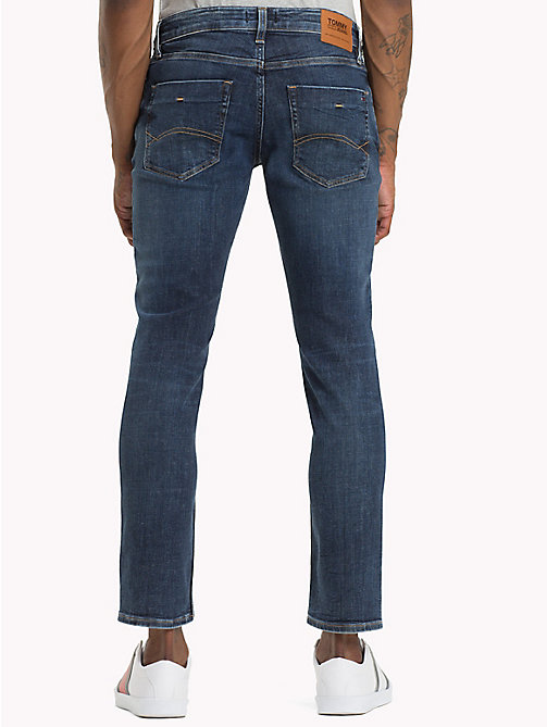 TOMMY JEANS Scanton Slim Fit Classic Jeans - LAZARY DARK BLUE STRETCH - TOMMY JEANS Jeans - detail image 1