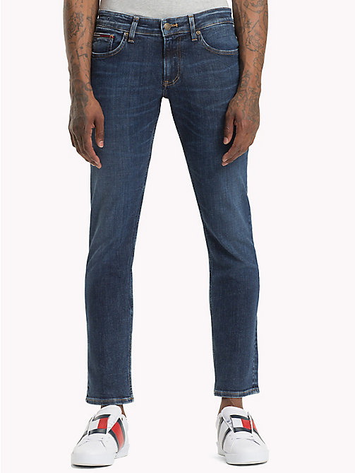 TOMMY JEANS Scanton Slim Fit Classic Jeans - LAZARY DARK BLUE STRETCH - TOMMY JEANS Jeans - main image