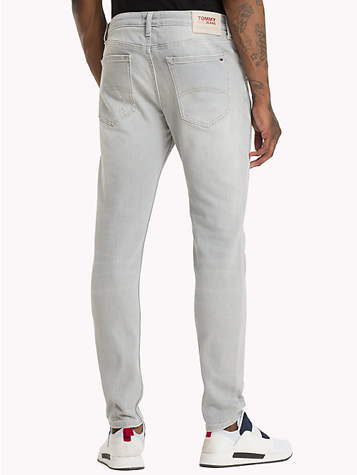 TOMMY JEANS Skinny Fit Jeans im Used Look - COINS GREY STRETCH DESTR - TOMMY JEANS Skinny Jeans - main image 1