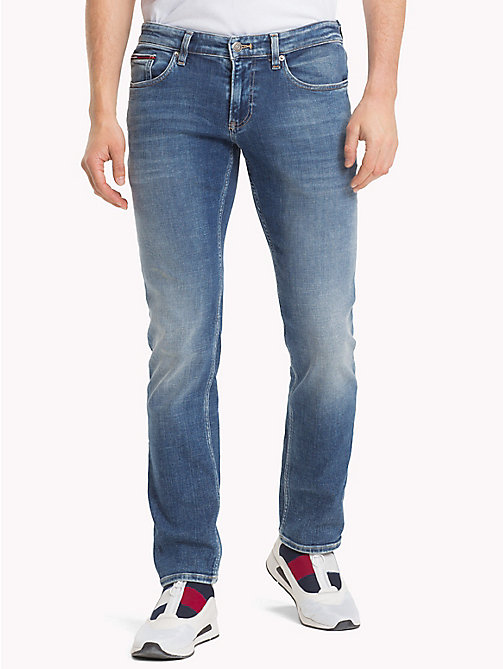TOMMY JEANS Scanton Slim Fit Faded Jeans - PANEL MID BLUE STRETCH - TOMMY JEANS Jeans - main image
