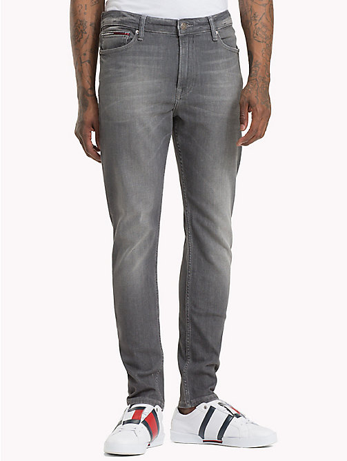 TOMMY JEANS Faded Skinny Fit Jeans - GRAPH GR STR - TOMMY JEANS Skinny Jeans - main image