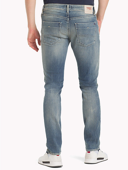 TOMMY JEANS Jeans slim fit con scoloriture - ROUTE SIX LIGHT BLUE COMFORT - TOMMY JEANS Slim Jeans - dettaglio immagine 1