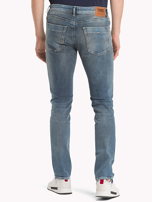 TOMMY JEANS Scanton klassieke dynamic stretch jeans - DYNAMIC CLASSIC MID BLUE STRETCH - TOMMY JEANS Kleding - detail image 1