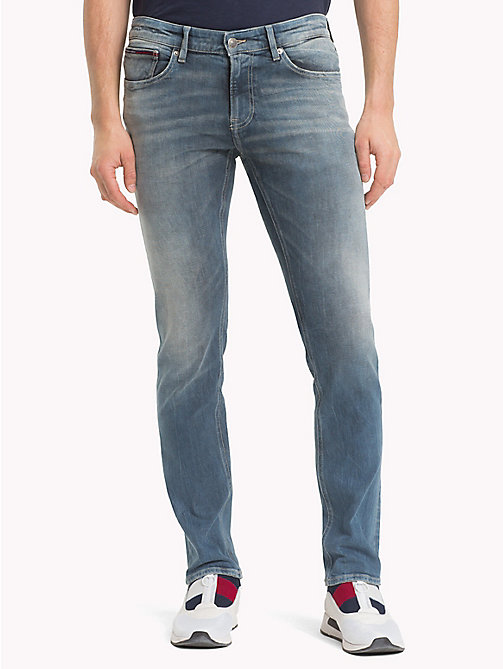 TOMMY JEANS Scanton klassieke dynamic stretch jeans - DYNAMIC CLASSIC MID BLUE STRETCH - TOMMY JEANS Kleding - main image