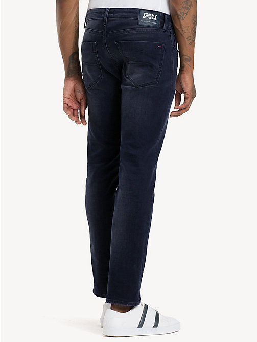 TOMMY JEANS Scanton dynamic stretch jeans met fading - DYNAMIC CLASSIC DARK BLUE STRETCH - TOMMY JEANS Kleding - detail image 1