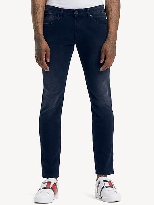 TOMMY JEANS Scanton dynamic stretch jeans met fading - DYNAMIC CLASSIC DARK BLUE STRETCH - TOMMY JEANS Kleding - main image