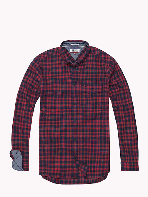TOMMY JEANS Woven Check Shirt - SAMBA / MULTI - TOMMY JEANS Shirts - detail image 1