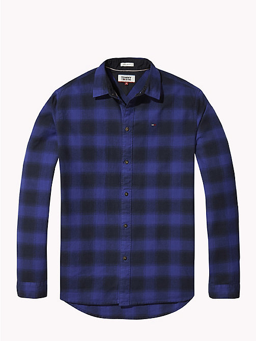 TOMMY JEANS Gingham Check Shirt - SURF THE WEB - TOMMY JEANS Shirts - detail image 1