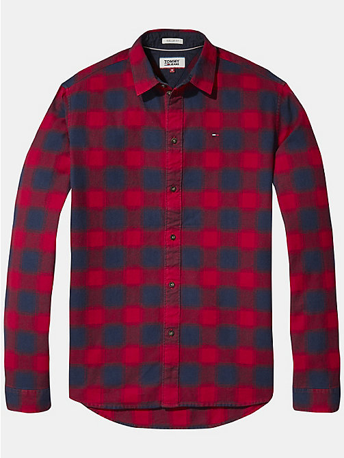 TOMMY JEANS Gingham Check Shirt - SAMBA - TOMMY JEANS Shirts - detail image 1