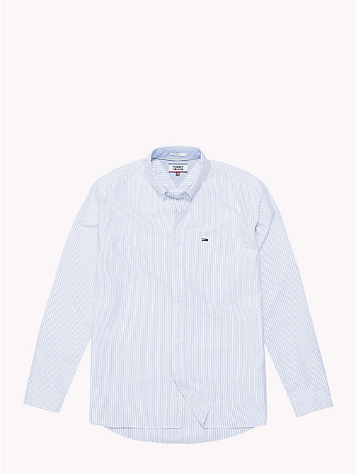 TOMMY JEANS Tommy Classics Stripe Shirt - CLASSIC WHITE / MULTI - TOMMY JEANS Tommy Classics - detail image 1
