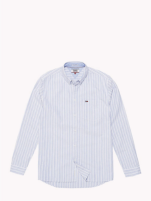 TOMMY JEANS Tommy Classics Stripe Shirt - SURF THE WEB / MULTI - TOMMY JEANS Tommy Classics - detail image 1