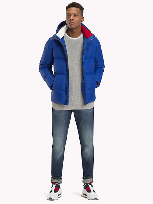 TOMMY JEANS Parka con cappuccio - SURF THE WEB - TOMMY JEANS Sustainable Evolution - dettaglio immagine 1
