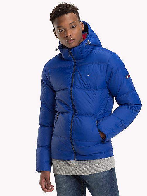 TOMMY JEANS Hooded Parka Jacket - SURF THE WEB - TOMMY JEANS Coats & Jackets - main image