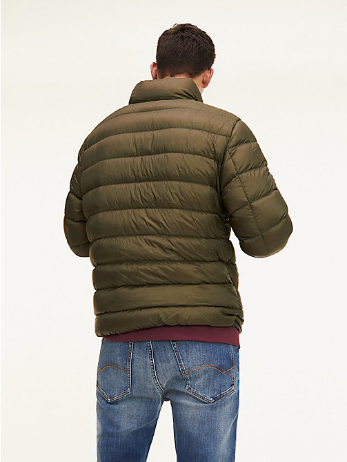 TOMMY JEANS Down-Filled Puffer Jacket - FOREST NIGHT - TOMMY JEANS Coats & Jackets - detail image 1