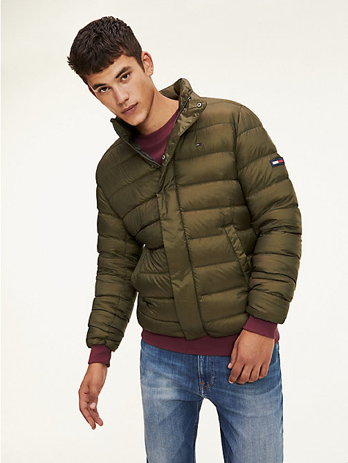 TOMMY JEANS Down-Filled Puffer Jacket - FOREST NIGHT - TOMMY JEANS Coats & Jackets - main image
