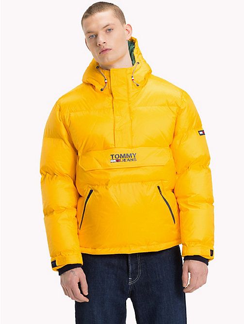 TOMMY JEANS Padded Popover Jacket - SPECTRA YELLOW - TOMMY JEANS Coats & Jackets - main image
