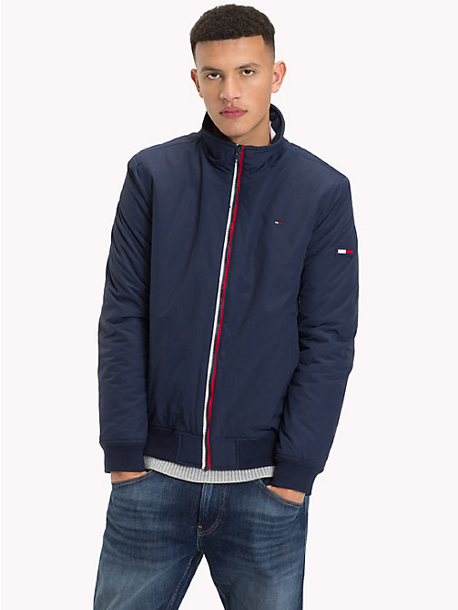 TOMMY JEANS Padded Nylon Jacket - BLACK IRIS - TOMMY JEANS Clothing - main image