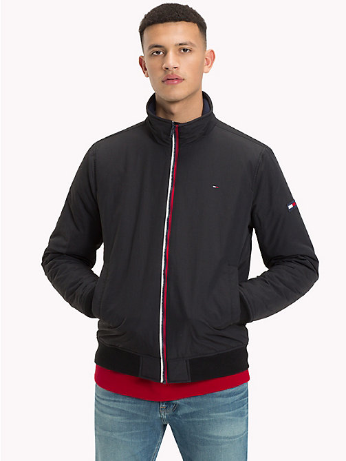 TOMMY JEANS Padded Nylon Jacket - TOMMY BLACK - TOMMY JEANS Clothing - main image