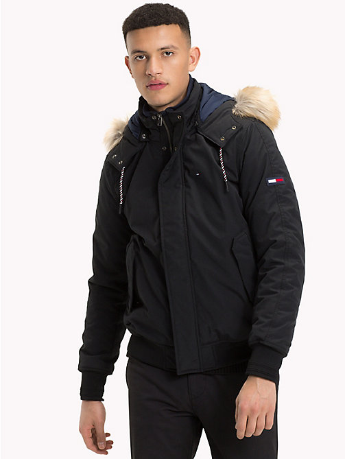 TOMMY JEANS Padded Bomber Jacket - TOMMY BLACK - TOMMY JEANS Coats & Jackets - main image