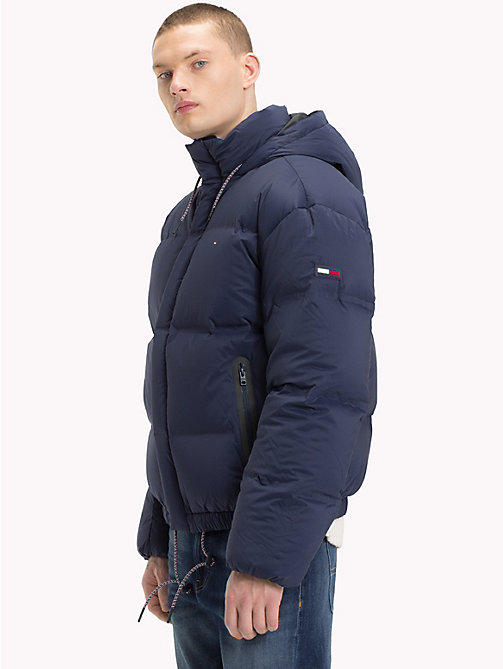 TOMMY JEANS Oversized Down Jacket - BLACK IRIS - TOMMY JEANS Coats & Jackets - main image