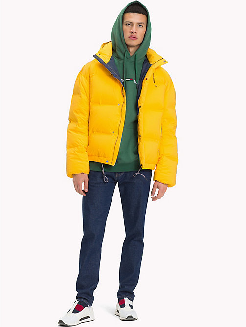 TOMMY JEANS Oversized Down Jacket - SPECTRA YELLOW - TOMMY JEANS Coats & Jackets - detail image 1