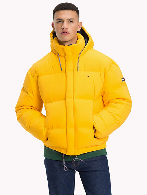 TOMMY JEANS Oversized Down Jacket - SPECTRA YELLOW - TOMMY JEANS Coats & Jackets - main image