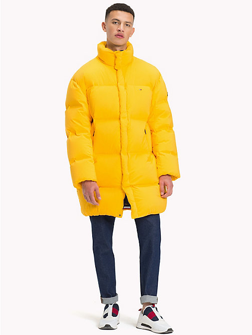 TOMMY JEANS Oversized Long Parka - SPECTRA YELLOW - TOMMY JEANS Coats & Jackets - detail image 1