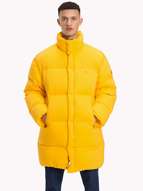 TOMMY JEANS Oversized Long Parka - SPECTRA YELLOW - TOMMY JEANS Coats & Jackets - main image