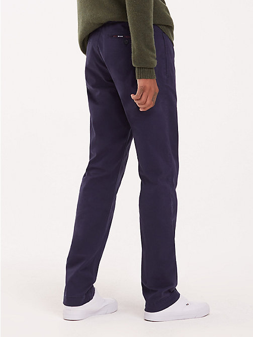 TOMMY JEANS Essential Slim Fit Chinos - BLACK IRIS - TOMMY JEANS Trousers & Shorts - detail image 1