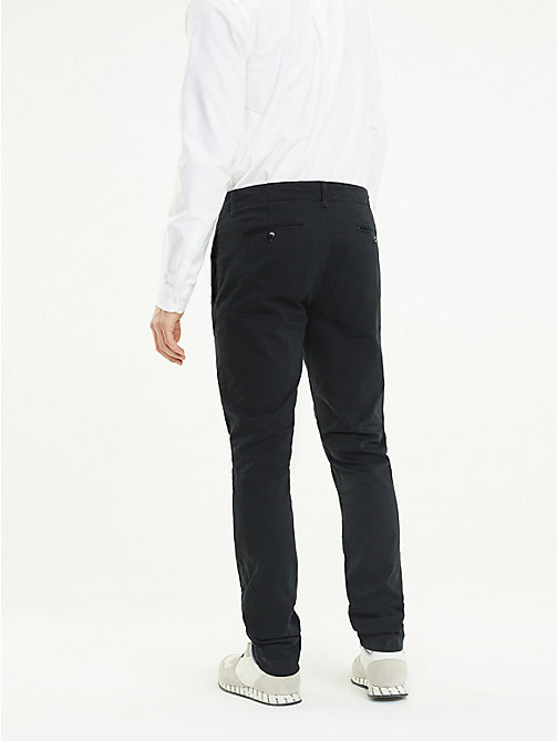 TOMMY JEANS Slim Fit Chinos - TOMMY BLACK - TOMMY JEANS Trousers & Shorts - detail image 1