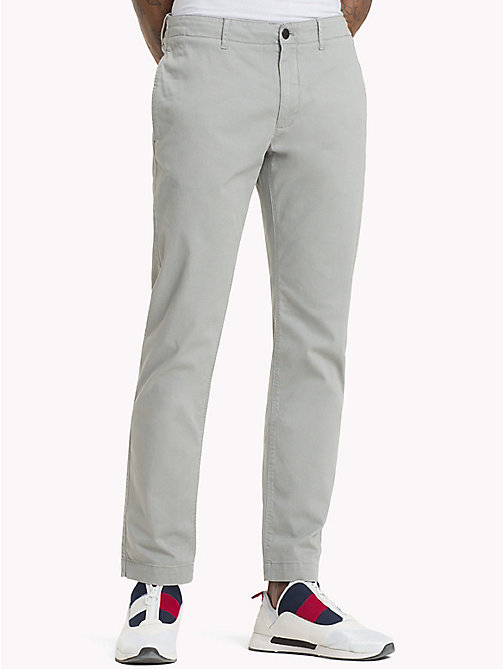 TOMMY JEANS Essential Slim Fit Chinos - DRIZZLE - TOMMY JEANS Trousers & Shorts - main image